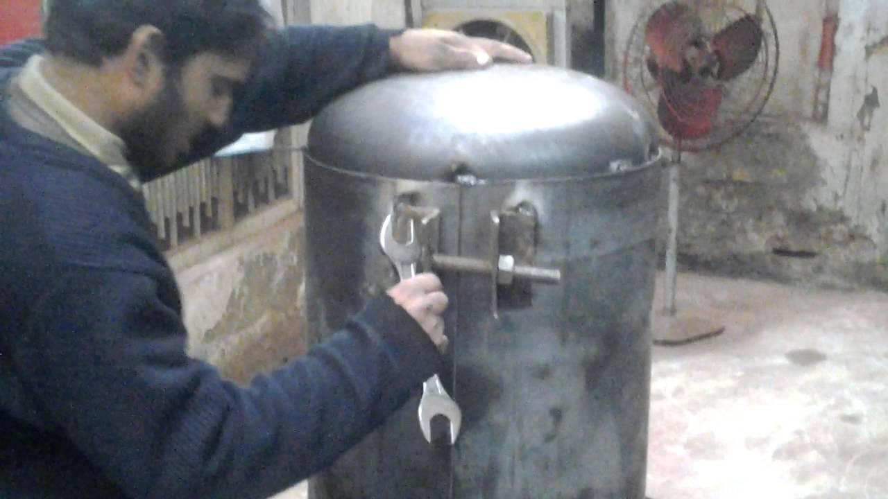 Air Compressor Tank Repair
