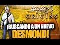 ¡EN BUSCA DE UN NUEVO DESMOND MILES! - Mensaje Primera Civilización 1 - AC Origins - RAFITI