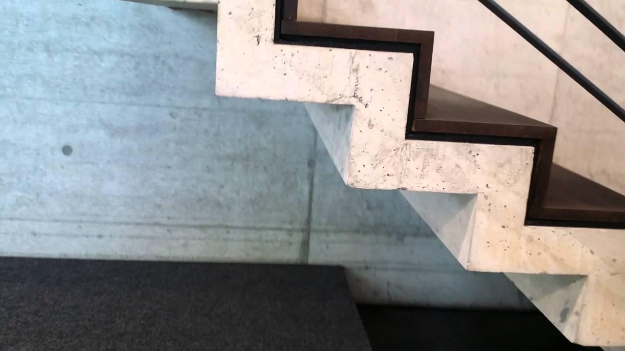 Zelf betonnen trap storten: bram jolina gaan bouwen bekisten trap en