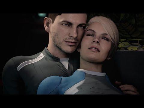 Mass Effect: Andromeda. Alternate romance scenes (Cora & Jaal)