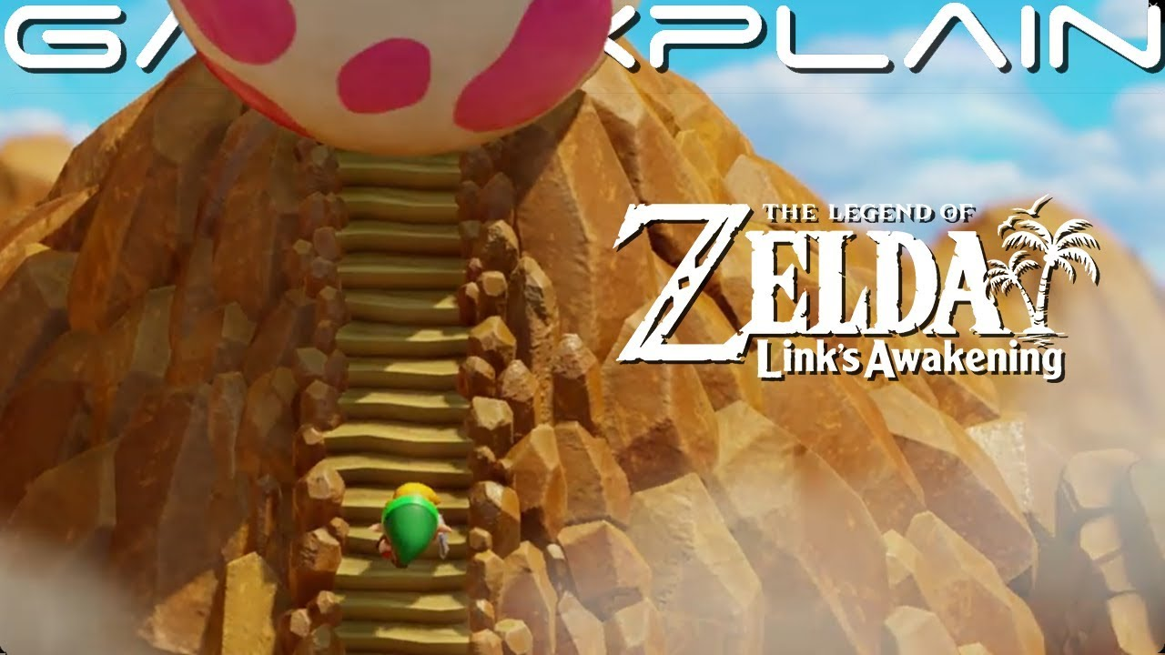 Zelda Link S Awakening Overview Trailer Amiibo Nintendo Switch Some Spoilers