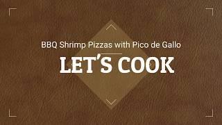 BBQ Shrimp Pizzas with Pico de Gallo. thumbnail
