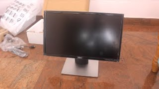 Dell 22 Monitor(Full HD) Unboxing and Setup(SE2216H)