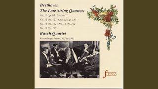String Quartet No. 13 in B-Flat, Op. 130: III. Andante con moto, ma non troppo