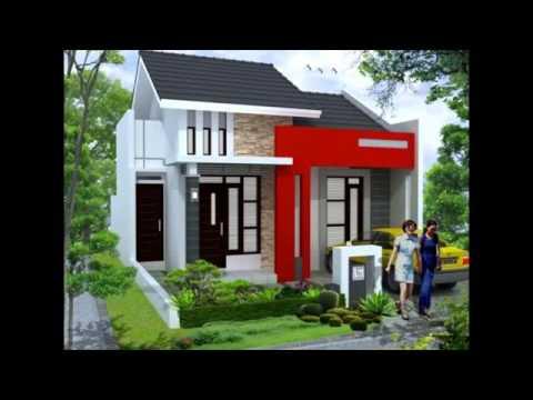 desain rumah sederhana ukuran 6x8 - youtube