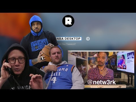 The Carmelo Anthony Telethon & the End of Round One   NBA Desktop With Jason Concepcion   The Ringer