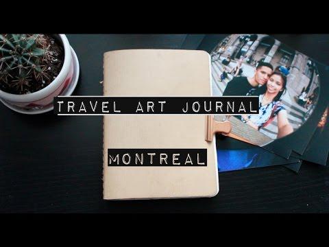 Travel Art Journal // MTL | Enchantelle