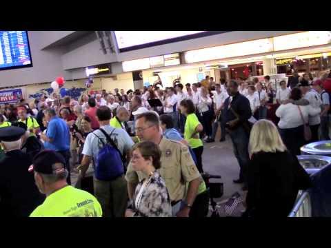 Honor Flight Columbus April 18, 2015