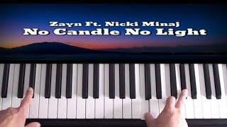 Zayn ft. Nicki Minaj - No Candle No Light - Piano Tutorial