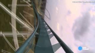 Fury 325: Take A Front Seat Ride On Insane Giga-coaster