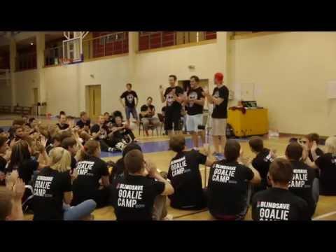 BLINDSAVE floorball goalie camp 2014