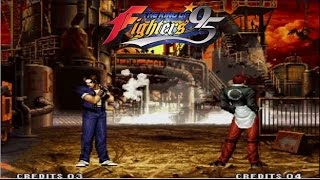 The King of Fighters '95 - Team Japan Playthrough