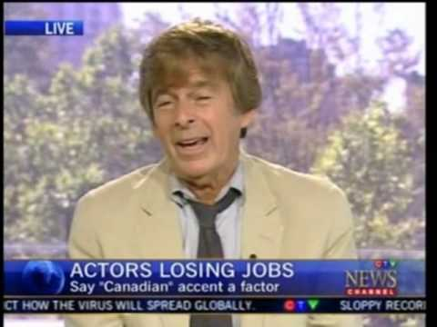 Andy Krieger Helping Canadian Actors Lose Accent
