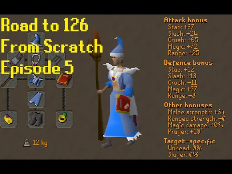 [OSRS] Road to 126 - From Scratch - Episode 5 - Barrows Gloves