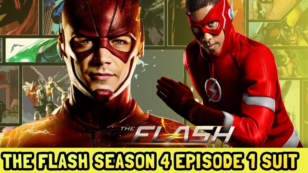 Kid Flash New Suit The Flash Season 4 Episode 1 Leaked