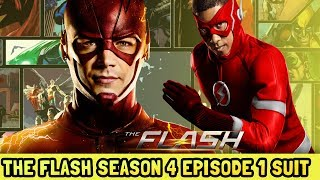 Kid Flash New Suit The Flash Season 4 Episode 1 Leaked Photos (Spoilers)