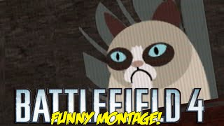 battlefield 4 funny montage i e d roulette grumpy cat kill epic jet swaps bf4 funny moments