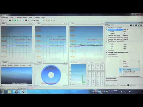 Integrated Development Environment for Renesas Capacitive Touch Workbench6(ver1.03) ③