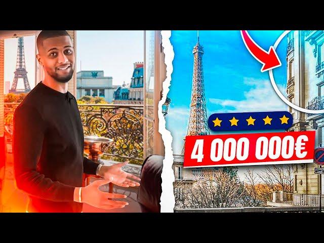 NOTRE APPARTEMENT À 10 MILLIONS D'EUROS (VISITE GUIDÉE)