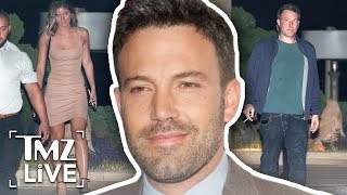 Ben Affleck Has A Playmate Dinner Date! | TMZ Live
