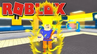 ROBLOX-The FACTORY OF the RETURN GOKU (Super Hero Tycoon!)