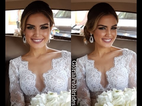 Glam Fashion Chic Complete Wedding Look Maquillaje Peinado