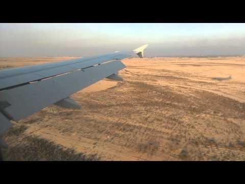 Landing in Borg El Arab International Airport