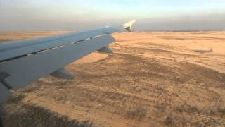 Landing in Borg El Arab International Airport