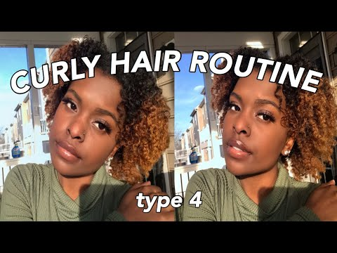 my-curly-hair-routine-|-how-i-do-my-everyday-4b-curls-|-braid-out-tutorial