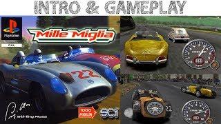 Mille Miglia - Intro & Gameplay PSX HD