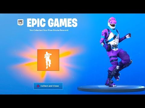 COLLECT YOUR FREE EMOTE in Fortnite.. (THANKS EPIC)