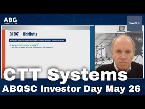 CTT Systems - ABGSC Investor Day May 26
