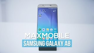 Samsung Galaxy A8 Gold - Siêu mỏng, pin trâu, cấu hình tốt, giá vừa phải.