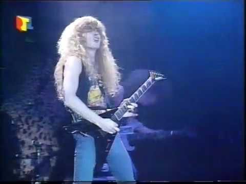 Megadeth - Live in Essen, Germany (1988) [Full TV Broadcast]
