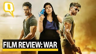 War Movie Review: Stutee Ghosh reviews the Hrithik Roshan and Tiger Shroff starrer War | The Quint