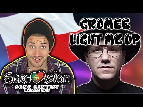 Reacting on Poland's song in Eurovision Song Contest 2018 (Gromee feat. Lukas Meijer - Light Me Up)