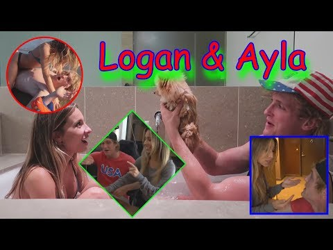 Thumbnail: CUTEST MOMENTS OF LOGAN PAUL AND AYLA WOODRUFF COMPILATION! (Layla)