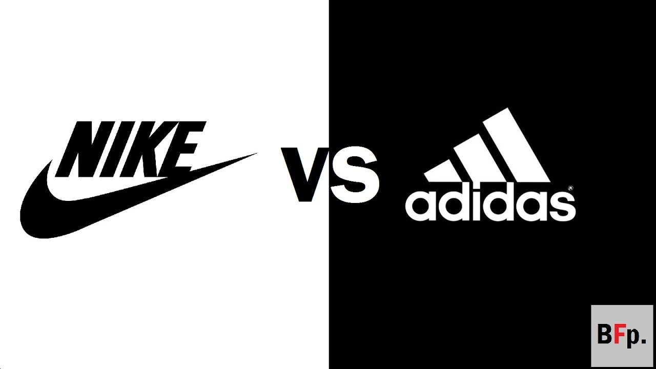 nike vs addidas logo