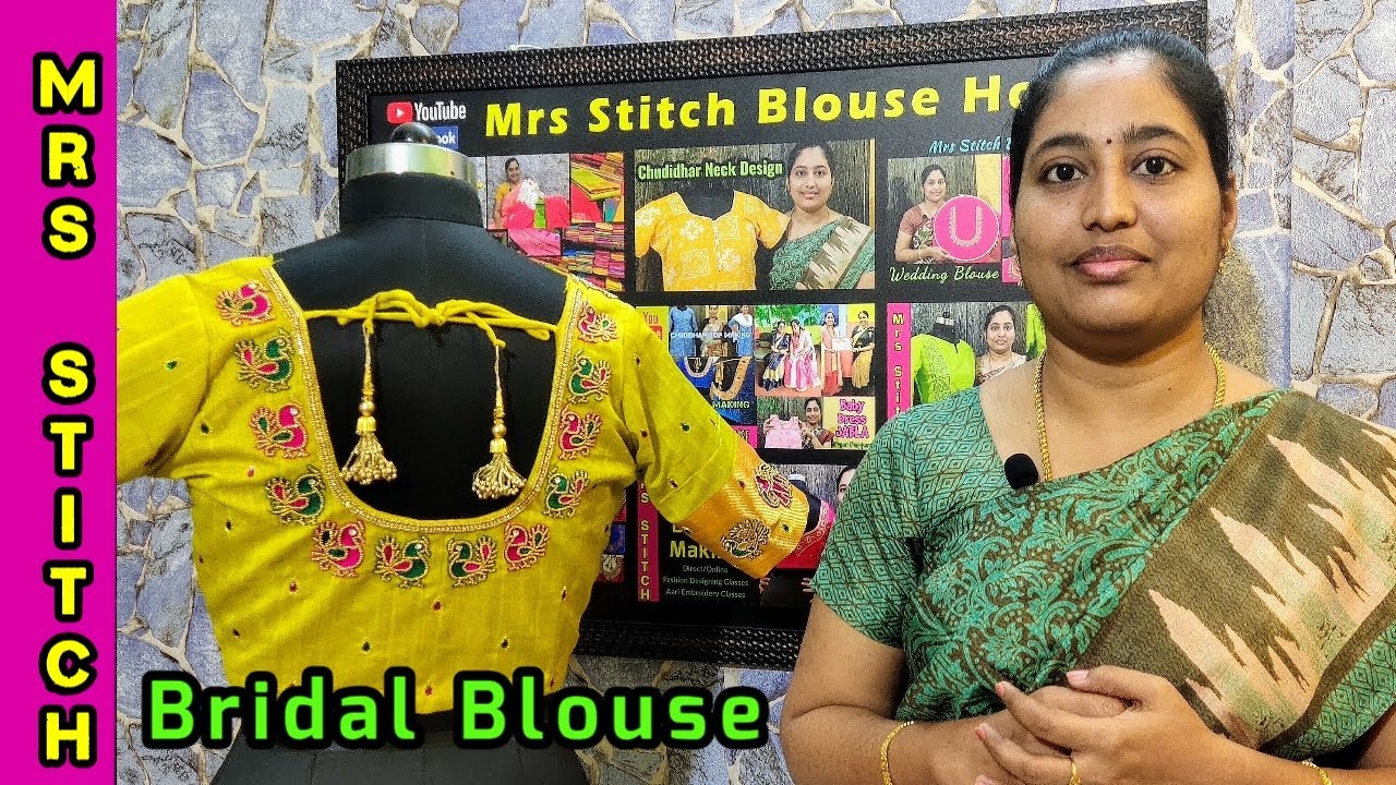 Bridal Blouse Designs Aari Embroidery Work Blouse Stitching Mrs Stitch Blouse House Tamil Youtube,Design Of Experiments Software