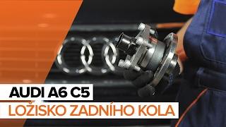 Jak vyměnit ložisko zadního kola na AUDI A6 C5 NÁVOD   AUTODOC
