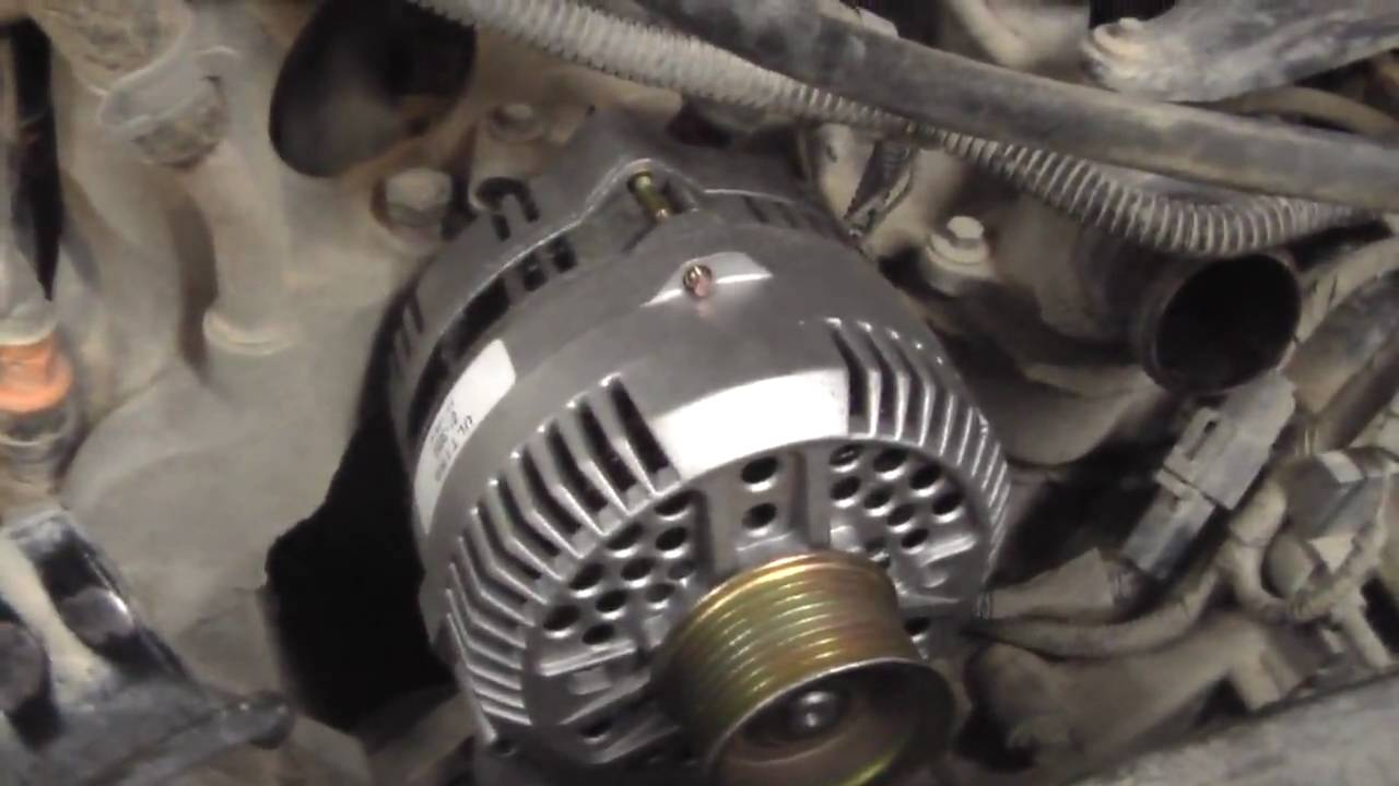 ford f 150 alternator replacement youtube  [ 1280 x 720 Pixel ]