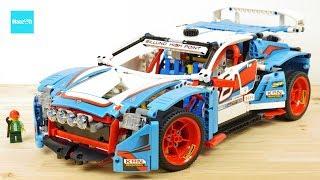 レゴ テクニック ラリーカー 42077 / LEGO Technic Rally Car 42077