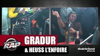 """Gradur """"Ne reviens pas"""" ft Heuss L'enfoiré #PlanèteRap"""