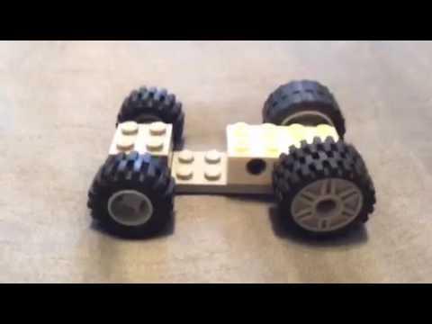 Make a Lego Balloon Race Car!!! - YouTube