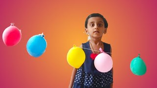Learncolors with colors balloons nursery rhymes song for kids balloons for kids video #Balloons