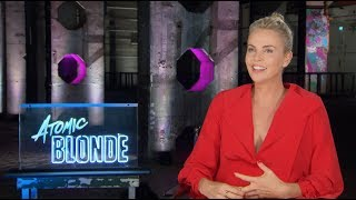 ATOMIC BLONDE interview - Charlize Theron