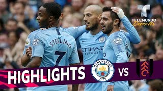 Manchester City vs. Fulham: 3-0 Goals & Highlights | Premier League | Telemundo Deportes