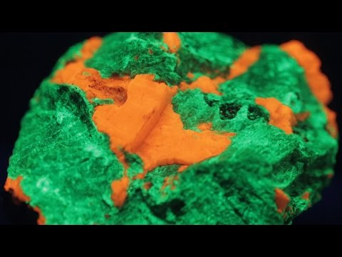 Why do some rocks glow?