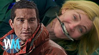 Top 10 INSANE Bear Grylls Celebrity Challenges