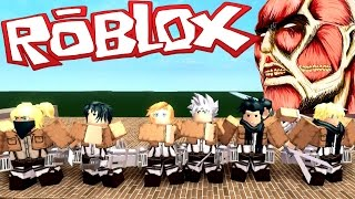 SUBS CONTRA TITANES - France ATTAQUE CONTRE TITAN (FR) Roblox
